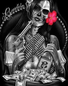 day of the dead tattoo idea