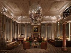 The London Edition Hotel – Londres  The London Edition Hotel est un nouveau concept d'établissements baptisés « Edition » faisant partie du Groupe des Hôtels Marriot. Voici la version londonienne où l'architecte  Glenn Pushelberg (Ateliers Yabu Pushelberg). A découvrir en images dans la suite de l'article.