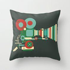 Film Camera Cushion Funky Cushions, Film Camera, Throw Pillows, Toss Pillows, Cushions, Decorative Pillows, Decor Pillows, Scatter Cushions, Movie Camera