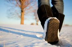 Useful Advice on How to Keep Sweaty Feet Warm in Cold Weather.  To prevent / stop sweating and keep your feet warm, use BriskStep cedar insoles made of lebanon cedar wood. (www.briskstep.com)