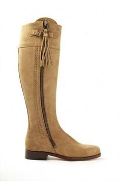Picture of Made to Measure: Spanish Riding Boots suede: black, brown, beige