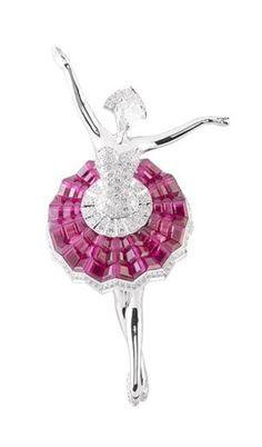 Van Cleef &Arpels Fine jewelry of ballet Collection