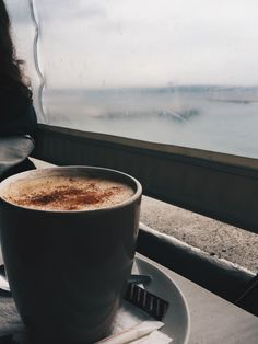 Peace of mind #coffee #cappuccino #morning