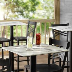 Lancaster Table Outdoor Table Tops, Outdoor Dining, Dining Area, Green Cafe, Marble Wood, Round Table Top, Hotel Supplies, Food Service Equipment, Steel Table