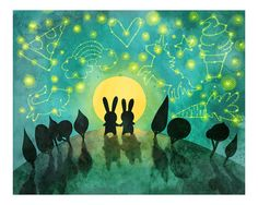 Bunny Constellation Print Bunny Constellation Print by MyZoetrope