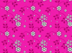 Magenta Floral by clairyfairy. Bedding in organic cottons. Cushions in linens. Upholstery in heavy duty twill.