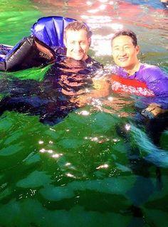 ♥♥♥  A good day to dive #H50 - Alex O'Loughlin and Daniel Dae Kim BTS ep 6.17 - Dec 15,2015