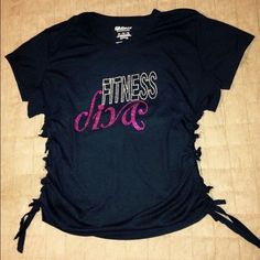 Custom Design T-Shirt from T&L Fashions Custom Design Shirt - Workout Diva Tops Tees - Short Sleeve