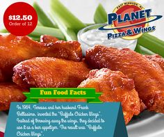Fun Food Facts: The story behind the invention of Buffalo Hot Wings
