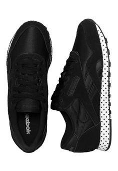 Reebok - CL Nylon Core Black/Coal/White - Girl Shoes - Official Streetwear Online Shop - Impericon.com Worldwide