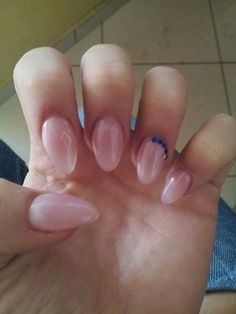 #simple #nails #nude