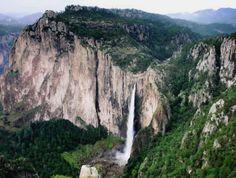 Cascada Basaseachi, Barrancas del Cobre    Chihuahua, Mexico