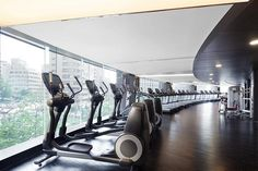 The Westin Chosun Seoul—Fitness Center - Gym by Westin Hotels and Resorts, via Flickr