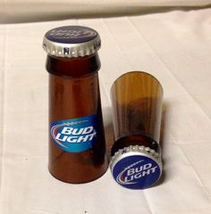 Beer Bottle Shot Glasses. Recycled Glass by RandomCraftsBySundee, $8.00