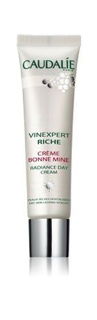 Caudalie Caudalie Vinexpert Riche Radiance Day Cream SPF 10 - 1 fl oz by Caudalie. $45.95. Looking for a way to get radiant, youthful skin? Caudalie Vinexpert Riche Radiance Day Cream SPF 10 utilizes the unrivaled anti-aging power of Resveratrol. This patented formula hydrates the skin and protects, it smooths fine lines and wrinkles. Grape-seed Polyphenols protect skin from damage-causing free radicals, while Octinoxate protects skin from harmful UV rays. Not only is skin ...