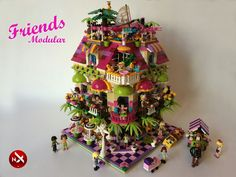 LEGO Ideas - Friends Cafe Corner Modular by Stephanix on rebrick.lego.com