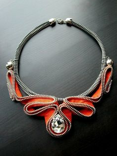 The Alien Zipper Necklace