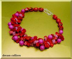 Traum Unikat - Korallenkette von Dream-Colliers auf DaWanda.com