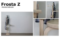 A third Andreas Bhend hack of the Ikea Frosta stool Ikea Furniture Hacks, Retro Furniture, Sofa Furniture, Online Furniture, Furniture Design, Frosta Ikea, Diy And Crafts Sewing, Diy Crafts, Wholesale Furniture