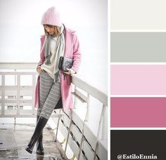 15 perfect color combinations for your winter wardrobe Más Colour Pallete, Colour Schemes, Color Trends, Color Combos, Color Palettes, Colour Combinations Fashion, Fashion Colours, Colorful Fashion, Mode Inspiration