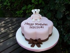 Teddy Bear Cake | Flickr - Photo Sharing!