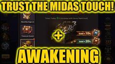Eternal Arena | MIDAS TOUCH | Awakening | 10,000 Power! Awakening, Video Games, Touch, Videogames, Video Game