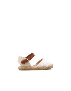 jute and crochet sandal - Shoes - Baby girl (3-36 months) - Kids - ZARA United States