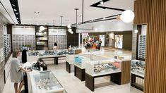 Spareparts Store by Cutler at Southgate Center, Edmonton – Canada Modern Lighting Design, Custom Lighting, Cool Lighting, Copper Lighting, Visual Merchandising, Design Furniture, Booth Design, Retail Design, Stores