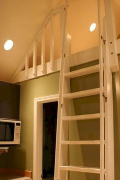Tiny House Loft Ladder Inspire