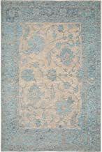 benuta Teppiche: Moderner Designer Teppich Vintage Frencie Flora Blau 160x235 cm - Oeko-Tex Standard 100-Siegel - 55% Polyacryl27% Polyester17% Baumwolle1% Latex - Vintage / Patchwork - Flachgewebt - Wohnzimmer - 229.95 - 4.4 von 5 Sternen - Vintage Teppich Latex, Modern, Flora, Rugs, Home Decor, Scrappy Quilts, Carpet Design, Vintage Rugs, Weaving