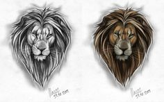 small male arm tattoos lion - Google'da Ara