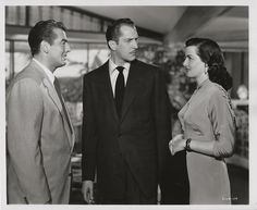 Jane Russell, Victor Mature, and Vincent Price in The Las Vegas Story (1952)