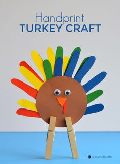 This handprint turkey craft is such an adorable thanksgiving craft for kids! Easy to make and a fun keepsake to take home too. This handprint turkey craft is such an adorable thanksgiving craft for kids! Easy to make and a fun keepsake to take home too. Thanksgiving Crafts For Toddlers, Thanksgiving Crafts For Kids, Thanksgiving Activities, Thanksgiving Treats, Thanksgiving Turkey, Preschool Craft Activities, November Crafts, Turkey Handprint, Turkey Craft