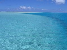 aitutaki, cook islands. The water is truly that amazing,