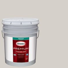 Glidden Premium 5 gal. #HDGWN23 Canyon Echo Semi-Gloss Interior Paint with Primer