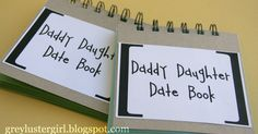 For Father's Day my girls are giving their dad a Daddy Daughter Date Book. They are excited for this because it is as much a gift for th...