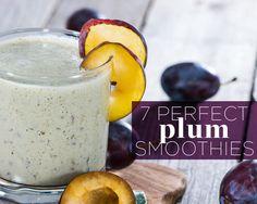 7 Perfect Plum Smoothies