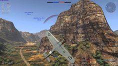 #War #Thunder Африканский каньон M.C.200 #Saetta серия 3 (001) #WarThunder