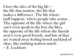 a big life | quote bites