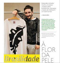 Nós na Revista Dia com o vestido da Jô Marçal. Veja tudo aqui: http://heroina-alexandrelinhares.blogspot.com.br/2014/09/brasilidade-flor-da-pele-revista-dia.html