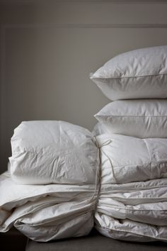Hungarian Goosedown Duvets and Pillows from www.thelinenworks.co.uk