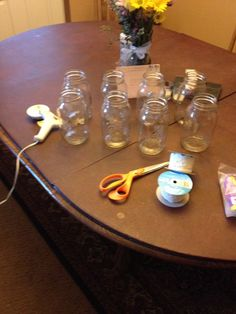 Started with canning jars