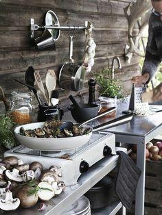 outdoor küchen küchenarbeitsplatte speise zubereiten