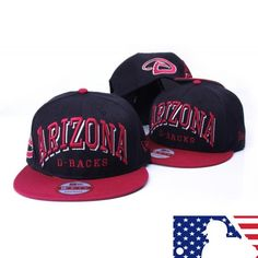 Cheap MLB Arizona Diamondbacks New Era Snapback Caps MLB201502 Snapback  Cap f2e2160a0f97
