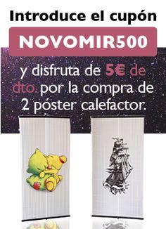 Novomir 500 descuento poster calefactor