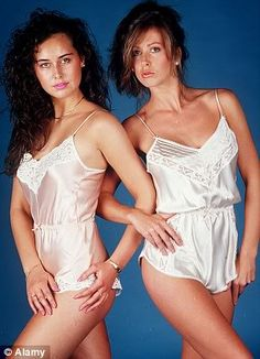 1980s lingerie. Welcome to romper-land!!