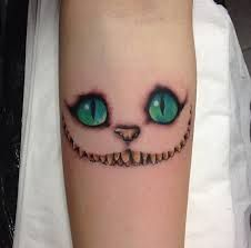 Image result for cheshire cat tattoo