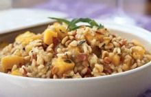 Butternut Squash Risotto with Pancetta and Jack Cheese Olive Nation