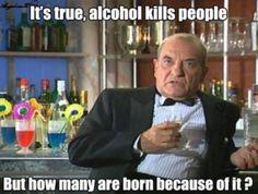 Alcohol's True Effect