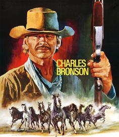Charles Bronson by peterpulp on DeviantArt Western Film, Western Movies, Old Movie Posters, Movie Poster Art, Vintage Posters, Old Movies, Vintage Movies, Actor Charles Bronson, Westerns